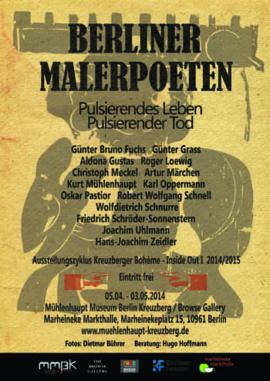 Berliner Malerpoeten Poster