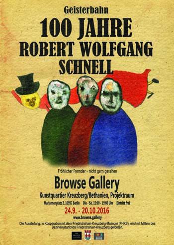 Poster Robert Wolfgang Schnell