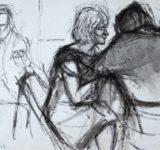 Ed Dickman, Zeichnung