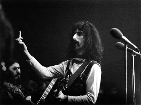Frank Zappa, Foto: Axel Benzmann. In concert at-the Sportpalast Berlin