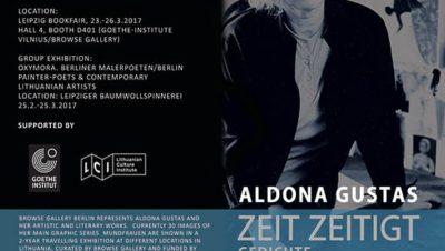 Aldon a Gustas Leipzig Bookfair Flyer