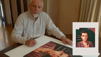 Peter Gabriel signiert Kunstdruck Melt Album Cover Art