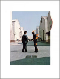 Pink Floyd, Wish You Were Here, 1975; Design by Hipgnosis – Aubrey Powell, Storm Thorgerson; Photography by Aubrey Powell © Pink Floyd Music Ltd, Limited Edition Print, Browse Gallery