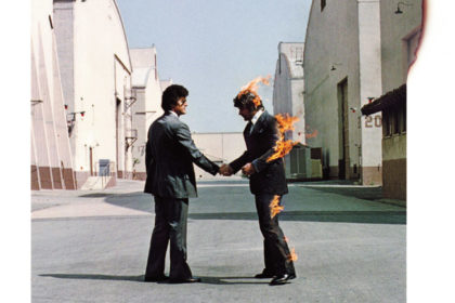 Pink Floyd, Wish You Were Here, 1975 Design: Hipgnosis – Aubrey Powell, Storm Thorgerson, photography by Aubrey Powell © Pink Floyd Music Ltd, image from limited edition print, Browse Gallery