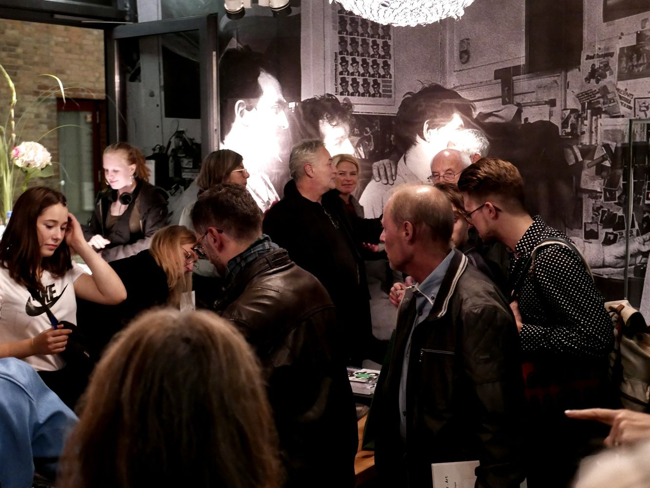 Exhibition Opening Daring to Dream. 50 Years of Hipgnosis. Photo: Edith Siepmann