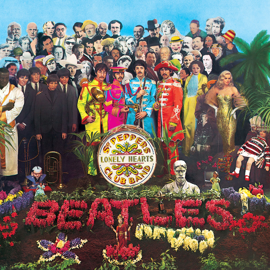 Peter Blake. The Beatles, Sergeant Pepper's Lonely Hearts Club Band