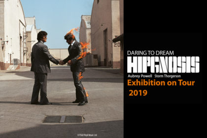 Hipgnosis On Tour. Pink Floyd, Wish You Were Here, Design Hipgnosis,© Pink Floyd Ltd