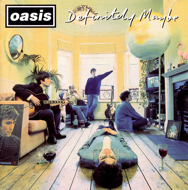 Oasis, Definitely Maybe © Michael Spencer Jones