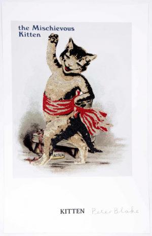 Reclaimed Icons: Kitten Druck von Peter Blake