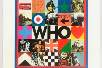 Who. The Who. Silk Screen. Album Cover Design by Peter Blake