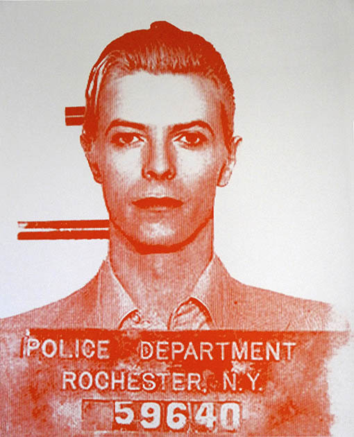 David Bowie US Police by David Studwell