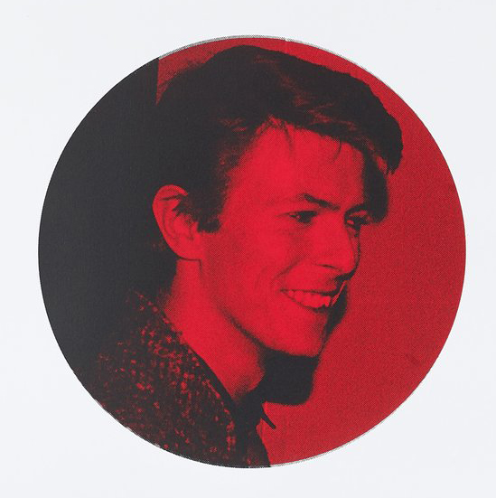 David Bowie CafeRoyal Vincent McEvoy Red