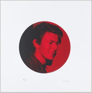 David Bowie Café Royal - Ruby Red