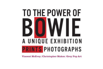 To The Power of Bowie - Pop Up Project small banner