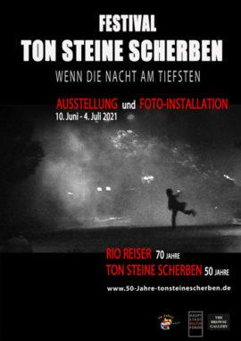 Poster Ton Steine Scherben Festival 2021